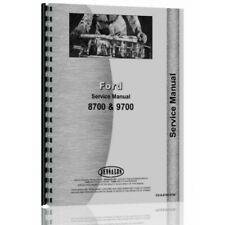Ford 8700 9700 Tractor Service Manual (FO-S-8700 9700)