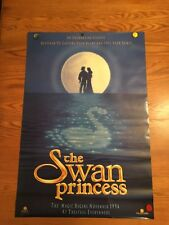 The Swan Princess 1994 27x40 Orig Movie Poster Rolled Jack Palance