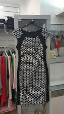 Kleid von Clarissa schwarz-weiss Gr.L (38) traumhaftschön (Q43)