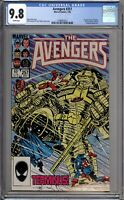 Avengers 257 CGC Graded 9.8 NM/MT 1st Appearance Nebula Marvel Comics 1985