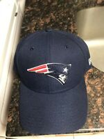 New England Patriots New Era 9forty The League Adjustable Hat Blue