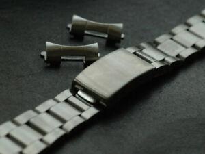 Plain Oyster SS 19mm bracelets bracelet for Vintage Tudor Watch and Others