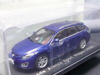 Mazda Atenza Sport Wagon 2008 1/43 Scale Box Mini Car Display Diecast Vol 145