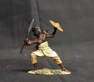 W.Britain 27024 War along the Nile Hadendoa Warrior with Spear - Britains