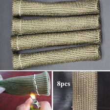 2500°Car Auto Titanium Spark Plug Wire Boots Protector Sleeve Heat Shield Cover