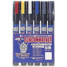 Bandai Gundam GM105 - Basic Marker Set 6pc