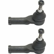 New Front Set of 2 LH & RH Side Tie Rod End Inner Fits Jaguar X-Type