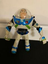 "Rare Hasbro Buzz Lightyear Action Figure 11"" Poseable Talking Laser - 2001"