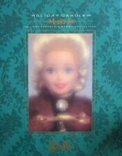 1996 Holiday Caroler Barbie Porcelain 2nd in Series W/Shipper