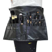 BF New Black Cosmetic Makeup Brush Apron Bag Artist Belt Strap Holder 832