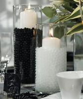 2 Packs Water Beads Aqua Soil Bio Gel Crystal Vase Filler Wedding Party Decor UK