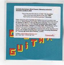 (FN390) Cymbals Eat Guitars, Wind Phoenix - 2009 DJ CD