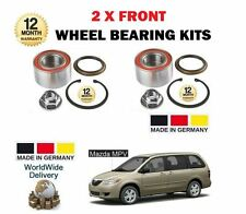 FOR MAZDA MPV 2.0TD 2.0 2.3 1999-2005 NEW 2 x FRONT WHEEL BEARING KIT COMPLETE