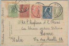 75424  - ROMANIA - POSTAL HISTORY - STATIONERY CARD + added stamps to ITALY 1921