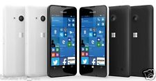 BRAND NEW MICROSOFT  NOKIA LUMIA 550 BLACK 4G LTE 8GB SIM FREE UNLOCK WINDOWS