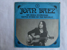 joan baez (in concert)-we shall overcome-SP 45 tours