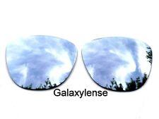 Oakley Lentes de Repuesto para Frogskins Gafas de Sol Plateado Polarizados