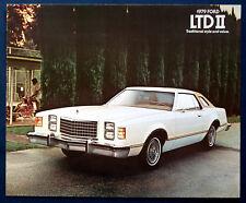 Prospekt brochure 1979 Ford LTD II (USA)