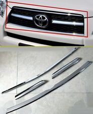 Chrome Front  Grille vent Molding cover trim strip For  Toyota RAV4 2009-2012