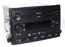 Mercury & Ford Car Radio - AM FM 6 Disc CD mp3 w Aux Input - 7E5T-18C815-BE
