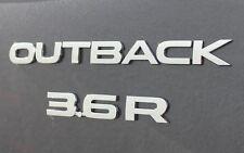 "NEW Genuine OEM Subaru Rear Badge Set  ""OUTBACK 3.6R"" 2010-2012 Legacy Outback"