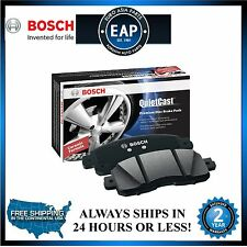 For RDX CR-V Crosstour Odyssey Bosch QuiteCast Ceramic Front Disc Brake Pads NEW