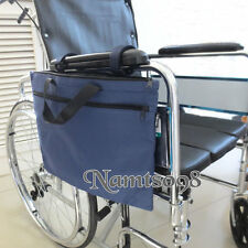 Wheelchair Scooter Storage Armrest Bag/V'elcro Attach/A4 File Magazine Newspaper