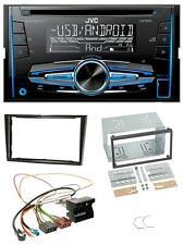 JVC MP3 USB CD 2DIN AUX Autoradio für Opel Astra H Corsa D Zafira B Klavierlack