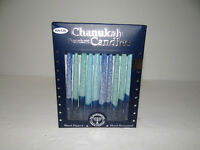 Rite Lite Chanukah Premium 45 Candles Hand Dipped Hand Decorated
