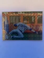 2020 Topps A.J. Pollock 641 Foilfractor 1/1 One of One Dodgers card