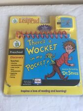 New In Package My First Leap Pad Dr. Seuss There's a Wocket In My Pocket