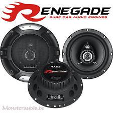 Renegade RX-62 165mm 2-Wege Auto Lautsprecher Set HIFI Boxen PKW 16,5cm 200 Watt