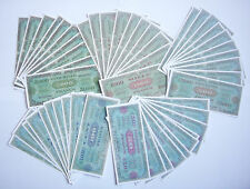 "SET DE 50 BILLETS 1944 ""Allied Military Currency"" (REPRODUCTION)"