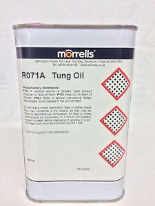 Morrells 100% Pure Tung Oil
