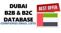 Dubai Business Email database, UAE B2B email lists, B2C emails, Companies lists