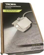 TROIKA Porte-Cles MAISON LED KEY RING HOUSE chrome