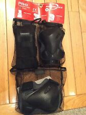 Adult Rollerblade Knee Elbow Wrist Pad Protective Gear Pack New