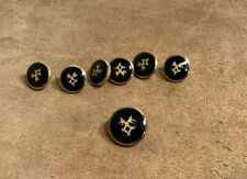 Holland Sherry Gold Buttons Made in England