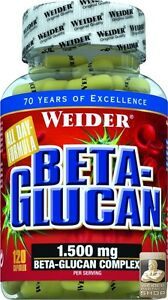 Weider Beta-Glucan Can 120 Capsules (Pro 100 G)