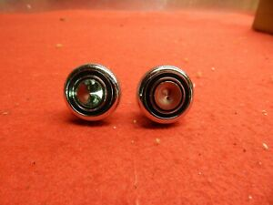 2 NOS 68 69 70 71 Ford Lincoln Mercury Mustang Galaxie Radio Knobs #C8OZ-18817-A