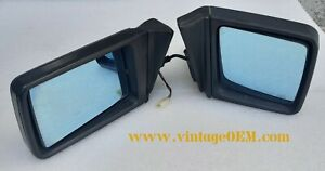 85-95 Mercedes Benz W124/201 pair of OEM outside mirrors black