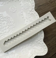 Jewelled Chain Silicone Fondant Mould Vintage Cake Border Decorating Mold