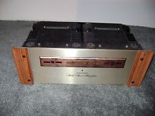 MARANTZ   15 POWER AMPLIFIER WITH WOOD TRIM WINGS #2