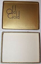 VINTAGE OLD GOLD 50 COUNT CIGARETTE BOX, EMPTY