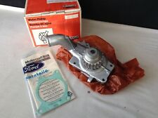 GENUINE MOTORCRAFT FORD ESCORT MK3 MK4 RS TURBO XR3i & FIESTA XR2 WATER PUMP NOS