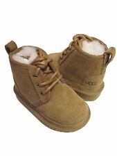 NEW INFANT TODDLER UGG NEUMEL CHESTNUT BOOT 1001516/1017320T NEUMEL II ORIGINAL