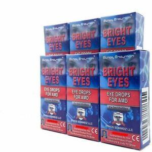 Ethos Eye Drops 6 Boxes 60ml Age Related Macular Degeneration Vision Improvement