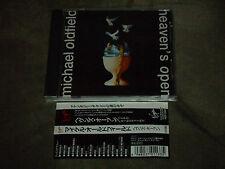 Michael Oldfield Heaven's Open Japan CD