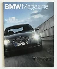 March 2006 BMW Magazine 335i Coupe Formula 1 Racing F800 S Motorcycle New X3