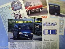QUATTROR993-PROVA SU STRADA/ROAD TEST-1993- NISSAN SERENA -5 fogli